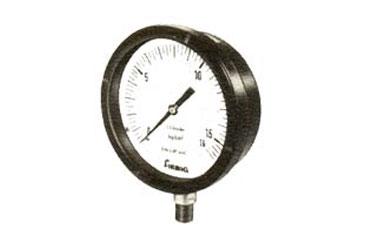 Industrial Gauges, These gauges are ideal for Chemicals and Fertili:zer Plants, Refineries, Thermal Power Station and where gauges are installed outdoor and in field services.